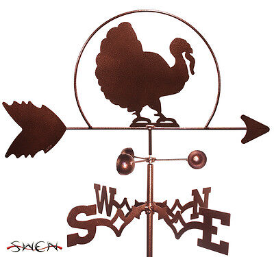 Hand Made Turkey Weathervane *NEW*