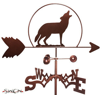 Hand Made Wolf Wolves Weathervane *NEW*