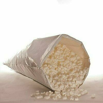 Biodegradable Packing Peanuts 3 cu ft bag 22.5 gal Eco Friendly White Popcorn
