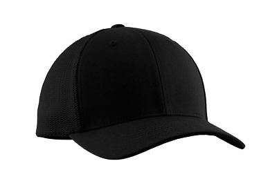 Port Authority Baseball Hat Adult Flexfit Mesh Back Cap New. C812
