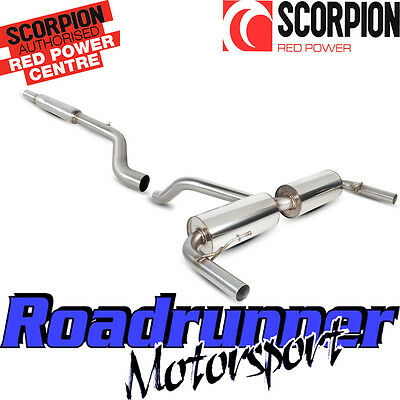 Scorpion SRN023 Clio 200 RS Stainless Exhaust System Cat Back Resonated 2010 on
