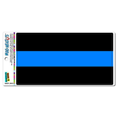 Thin Blue Line - Police Officers - MAG-NEATO'S™ Car Refrigerator Vinyl Magnet