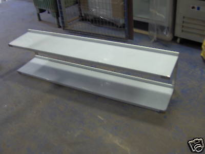 Stainless Steel Wall Mounted Shelf 1600mm Long