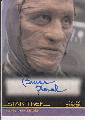 Star Trek Quotable Movies  A85 Bruce French autograph