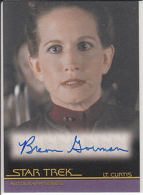 Star Trek Quotable Movies  A99 Breon Gorman autograph