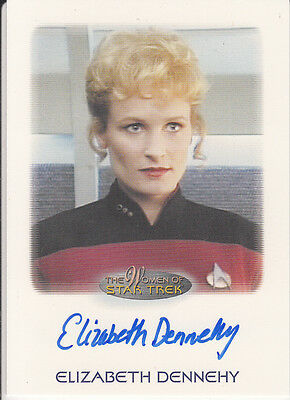 Star Trek of Women: Elizabeth Dennehy autograph