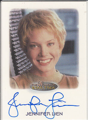 Women of Star Trek: Jennifer Lien (Kes) autograph