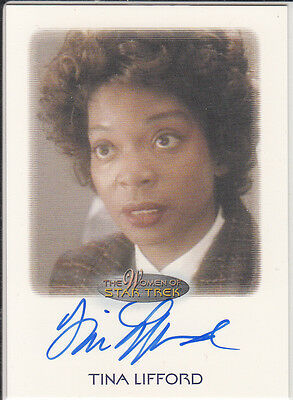 Star Trek of Women: Tina Lifford autograph
