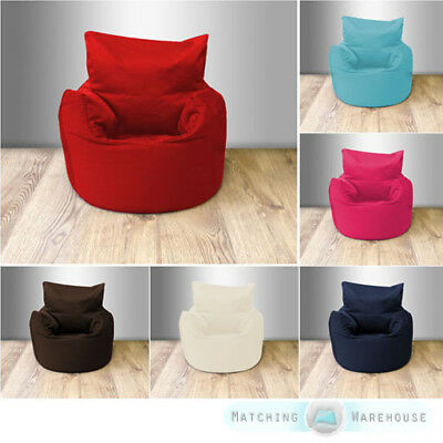 Cotton Twill Children's Kids Beanchair Bean Bag Seat Chair Armchair Seating Baby