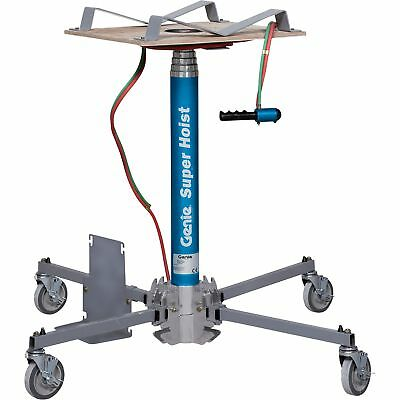Genie Super Hoist Material Lift-300-lb Load Cap 12ft 5 1/2in Lift Height #GH 3.8
