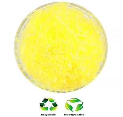 1KG Yellow Luxury Hamper Shred Gift Box Packaging Recyclable Shredded Tissue