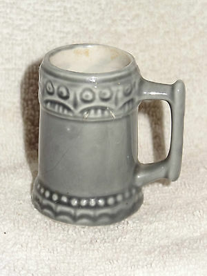 Vintage Ceramic Pottery Beer Stein Toothpick Holder- Made in USA- McCoy ??