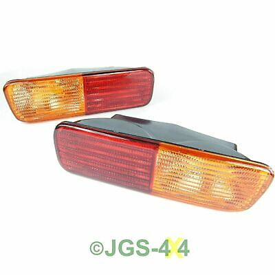 Land Rover Discovery 2 Rear Bumper Light Lamp Set - XFB101480 + XFB101490