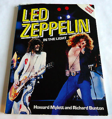 LED ZEPPELIN In The Light JAPAN PHOTO BOOK 1982 Jimmy Page Robert Plant
