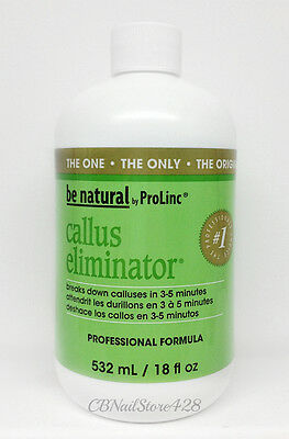 Be Natural - Callus Eliminator 18oz/540ml - More Scents to Choose