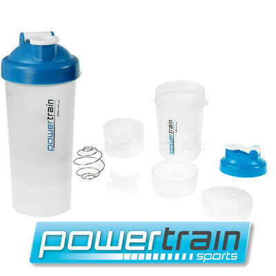 Gym Protein Supplement Drink Blender Mixer Shaker Ball Bottle Cup Smartshake
