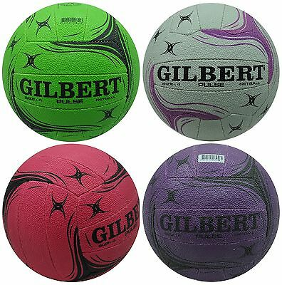 Gilbert Pulse Netball Ball Size 4 - Colors To Choose