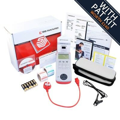 *NEW* Seaward Primetest 100 PAT Tester With Free Accessories & Calibration