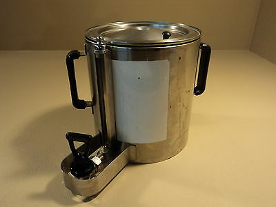 Fetco Thermal Coffee Dispenser 1 Gallon Stainless Steel