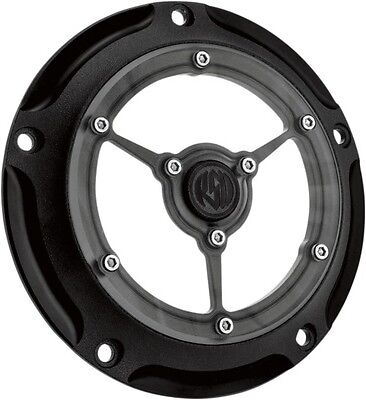 RSD Black Ops Clarity Derby Cover for Harley 99-16 Twin Cam 0177-2007-SMB