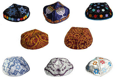 Kippah 8 Machine Embroidery Designs set Software all Embroidery Machines Types