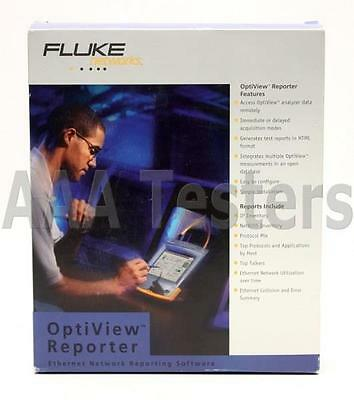 Fluke Networks Optiview Reporter Ethernet Network Reporting Software OPV-RPTR