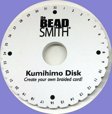 LOT of 5 Kumihimo Round Disk Plate 6 inch ~ Disc Japanese BRAIDS Bulk Packaging