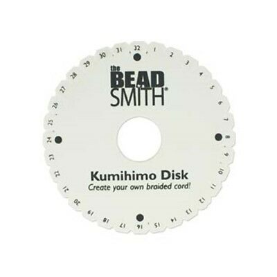 """Single Kumihimo Round Disk Plate 6 inch ~Japanese BRAIDS Bulk Packaging 6"""" disc"""