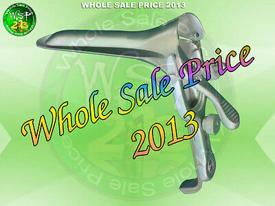 GRAVES VAGINAL ANAL FETISH SPECULUM SPECULUMS 1 X LARGE Stainless Steel