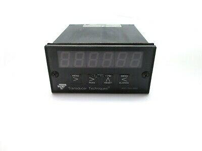 Transducer Techniques DPM-3 Digital Panel Meter, 6 Digit, w/o TEDS plug n play