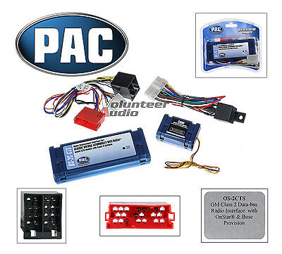 wire harnesses car audio video installation vehicle pac os 2c cts onstar radio replacement wiring interface harness cadillac cts srx