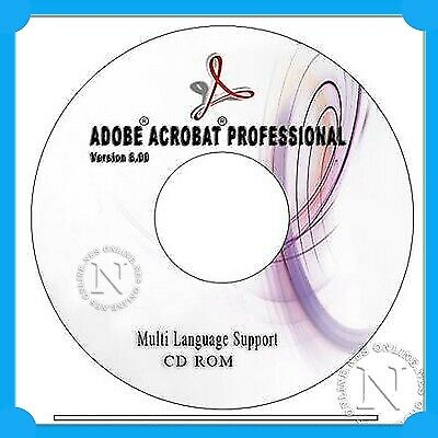 Adobe Acrobat 8.0 Professional for WINDOWS EDUCATION