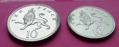 Royal Mint Ten Pence 10P Brilliant Uncirculated Coin