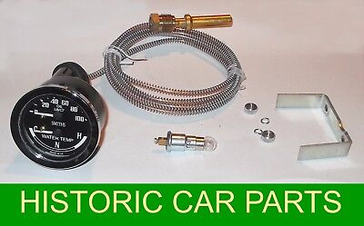 SMITHS DUAL Oil Pressure & Water Temp Gauge will suit many 1950-60s Classic Cars