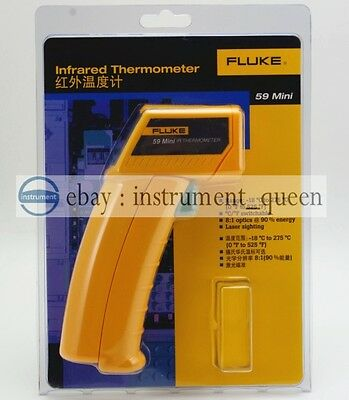 Fluke 59 Mini Handheld Laser Infrared Thermometer Gun !!NEW!! F59