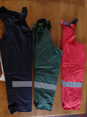 Belstane Waterproof Kids Chaps & Hi Viz Stripe    Bnnt   3 Colours & Multi Sizes
