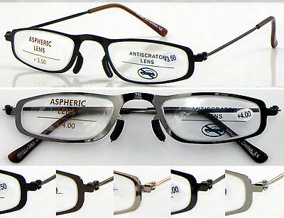 L383 Superb Quality Reading Glasses & NO WELDING Steel Frame/Very Simple Durable