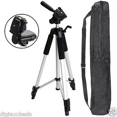"""59"""" Tripod Professional Panhead fits all SLR, Point and Shoot Cameras,Camcorders"""