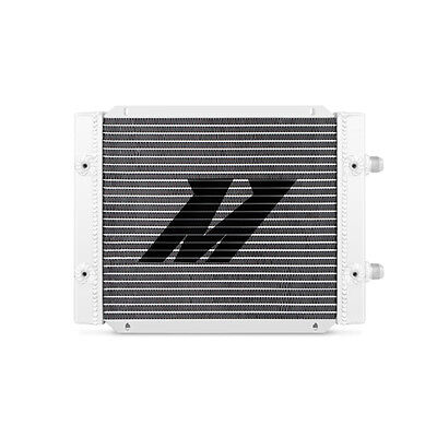 Mishimoto Universal 25 Row Dual Pass Oil Cooler - Silver