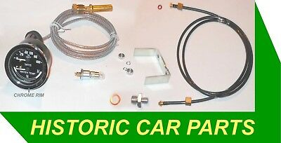 DUAL Oil Pressure & Water Temp Gauge KIT will suit many 1950-70s Classic Cars