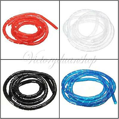 1M Business Electrical Flexible Cord Spiral Tube Home Wire Organizer Management