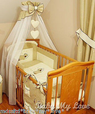 LUXURY BABY/COTBED/COT BED CANOPY DRAPE/MOSQUITO NET 300cm