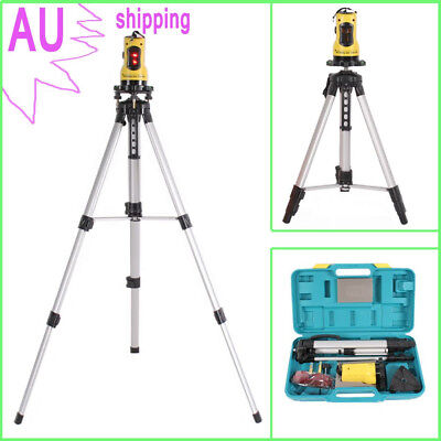 SELF LEVELLING CROSS LINE LASER LEVEL 360 DEGREES ROTATION 635nm + TRIPOD