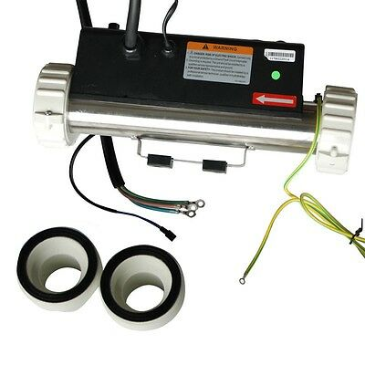 LX H30-R1 3KW Flow Type Spa Heater I Type Straight Through Hot Tub Heater Tube