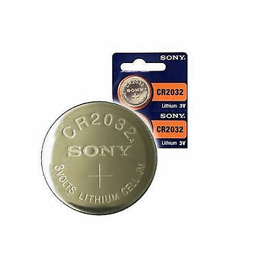 """Sony Cr2032 """"2 Pack"""" 3V Lithium Button Cell Battery"""