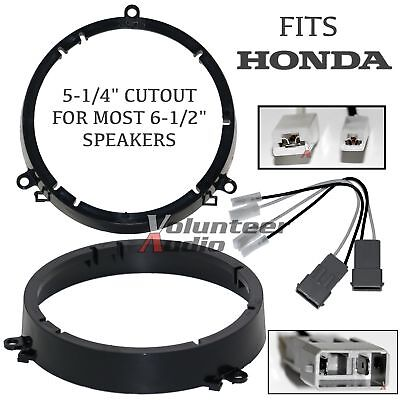 SAH6 2001 - 2005 Honda Civic Speaker Adapter Front Location With Speaker Harness