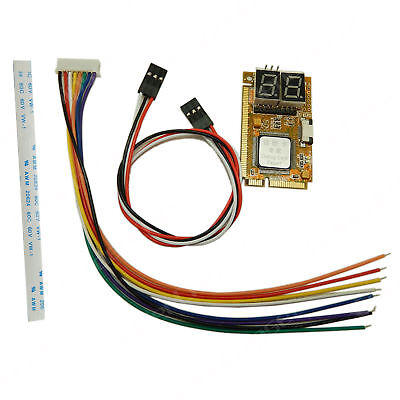 5in1 Notebook Mini PCI PCI-E LPC I2C ELPC Debug Card Diagnostic Analyzer Tester