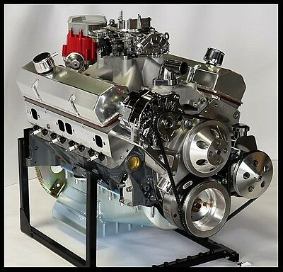 Chevy Turn Key Sbc 383 Stroker Stage 2.0 Roller Cam Engine 503 Horse Power