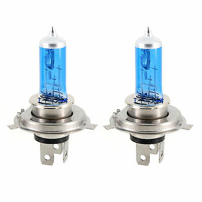 H4 100/90W High/Main Beam Xenon 5000K Head Light Lamps Bulbs New Car Id34