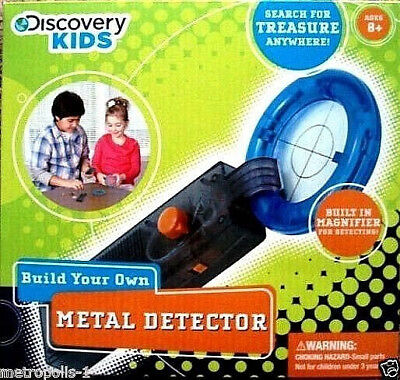 Discovery Kids,build Your Own Electronic Metal Detector,you Build It,kids 8+,new